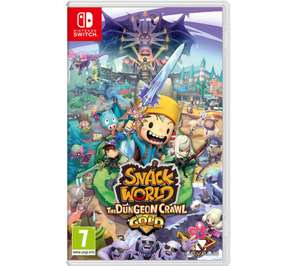[Nintendo Switch] Snack World: The Dungeon Crawl - Gold - £21.97 delivered @ Currys PC World