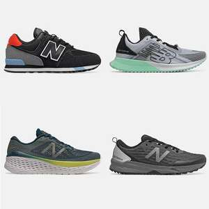Up to 50% Off Sale + Extra 15% Off with code + Free Returns @ New Balance (£4.50 delivery / Free on £50 spend)