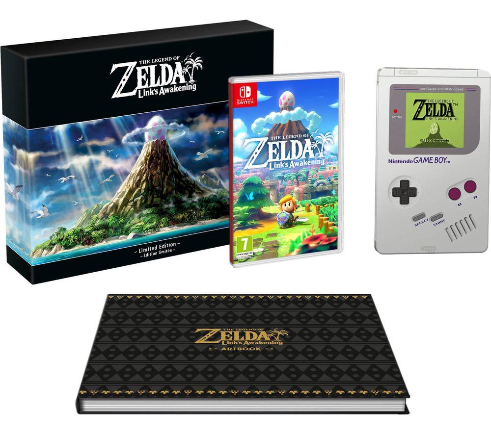 NINTENDO SWITCH The Legend of Zelda: Link's Awakening Limited Edition - £69.97 @ Currys PCWORLD
