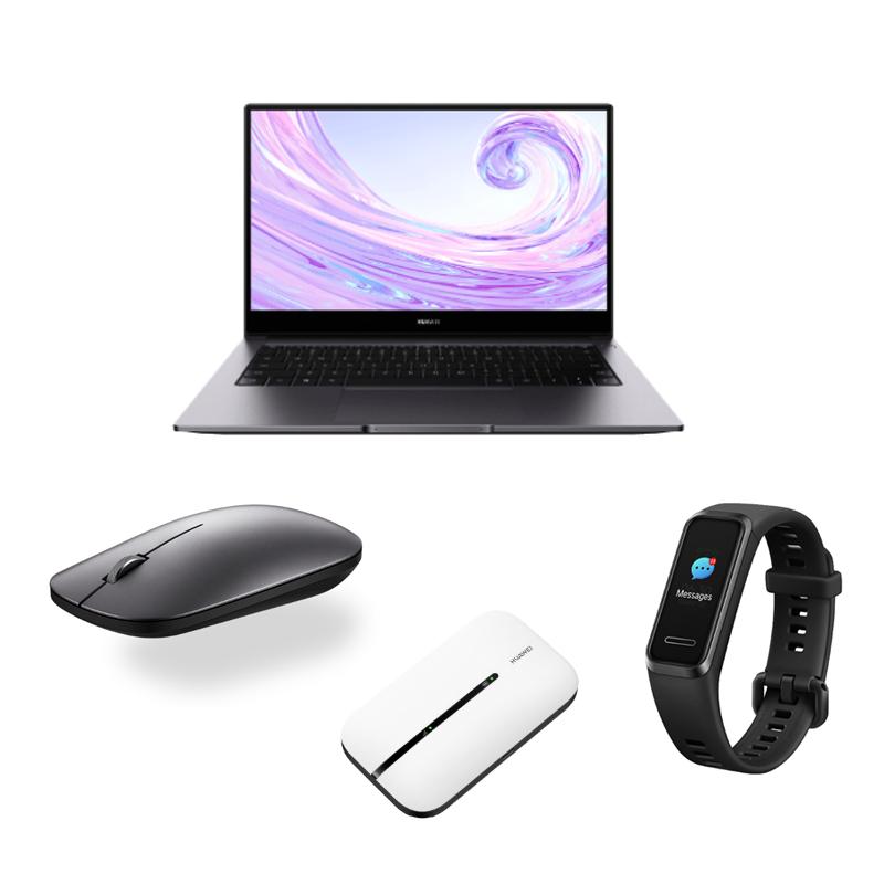 HUAWEI MateBook D 14 - Ryzen 5 3500U / 8GB RAM / 512GB SSD + Free Band 4, Wireless Mouse & Mobile WiFi 3s - £599 @ Huawei