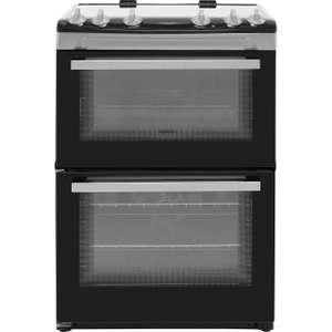 Zanussi ZCV66050XA 60cm Electric Cooker with Ceramic Hob - Stainless Steel - A/A Rated £422.10 at ao.com