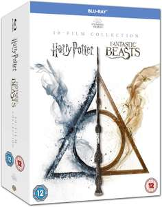 Wizarding World 10-Film Collection Harry Potter & Fantastic Beasts Blu-ray Collection £39.99 @ Amazon