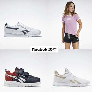 Up to 50% Off Outlet Sale + Extra 30% Off selected Full Price & All Outlet items using code + Free Delivery over £20 & Free Returns @ Reebok