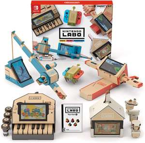 Nintendo Labo: Variety Kit (Labo Toy-Con 01) for Nintendo Switch for £23.36 delivered @ Amazon