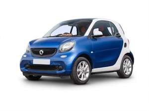 Lease - Smart Smart Fortwo Electric Coupe 60kW EQ Passion Advanced 17kWh 2dr Auto £6,945.48 at Blue Chilli Cars