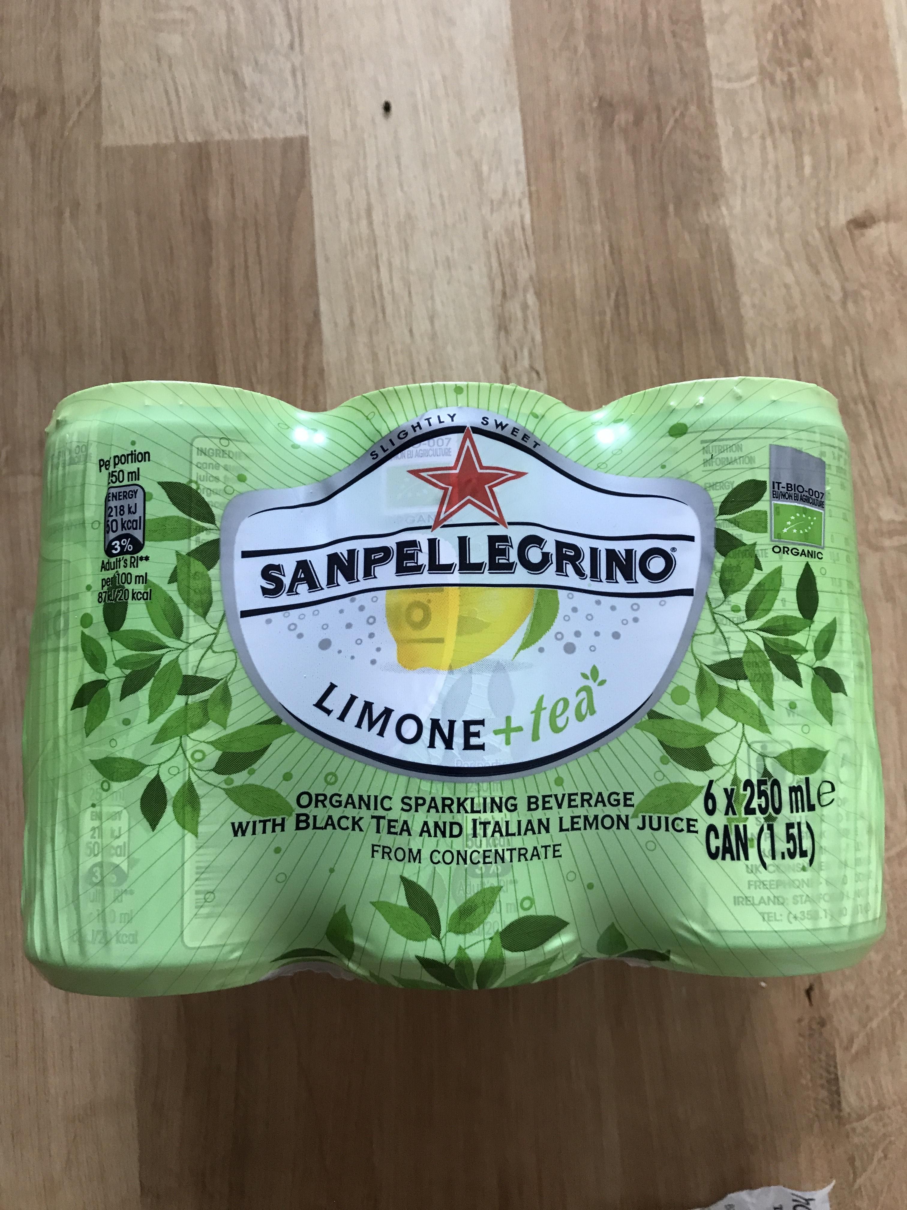 San Pellegrino sparkling Organic Lemon Tea. 6 x 250ml. £1.29 at Home Bargains (Cardiff)