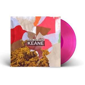 Keane 'Cause & Effect' Limited Pink Vinyl £9 + £3.95 del at Recordstore