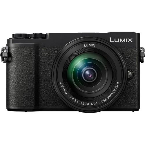 Panasonic Lumix GX9 Black + 12-60mm Lens - (DC-GX9MEB-K) + Free Panasonic Lumix G 25mm f1.7 Asph. Lens £569 at UK Digital