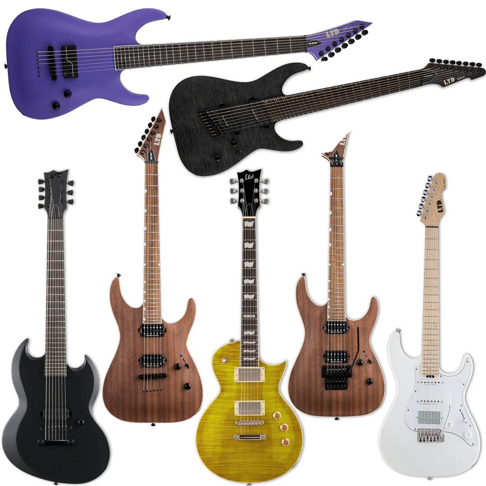 ESP Electric Guitar Sale - Examples: ESP LTD SN-1000W - £599 / ESP LTD VIPER 7 £499 / ESP LTD EC-256FM £339 Delivered @ Andertons