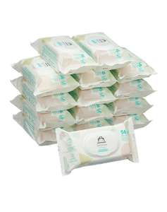 Amazon Brand - Mama Bear Sensitive Unscented baby wipes– Pack of 15 (Total 840 wipes) Sensitive & Fresh £10.49 (+£4.49 non-prime)
