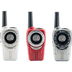 Cobra SM660 Weather Resistant Walkie Talkie 3-Pack / 8Km Range / 8 Channels / Rechargeable Batteries / VOX - £32.99 Delivered @ IWOOT