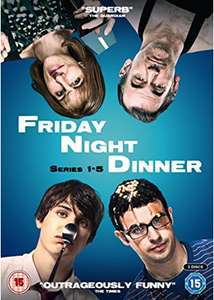 Friday Night Dinner - Series 1 - 5 [DVD] - £19.99 delivered @ Base