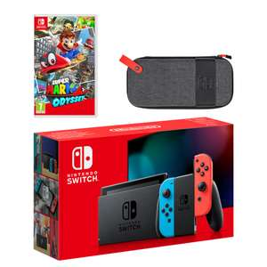 Nintendo Neon Switch Super Mario Odyssey Pack - £329.99 Delivered @ Nintendo UK