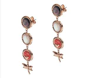 EMPORIO ARMANI Multistone Dragonfly Drop Earrings £92.70 at Goldsmiths