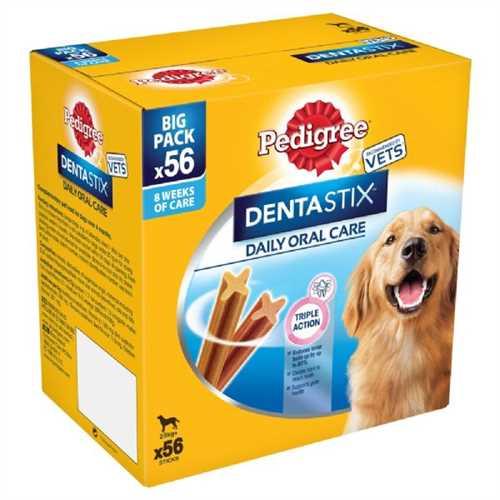 Pedigree Dentastix Multipack 56 Sticks £10 + £4.99 delivery at Pet Planet