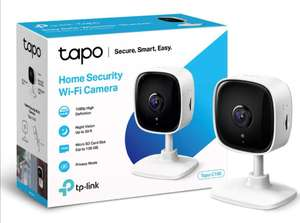 TP-Link Tapo C100 1080P Indoor Security Wifi Camera with Night Vision - Works with Alexa & Google Home -£19.99 /+£4.49 (non prime) @ Amazon