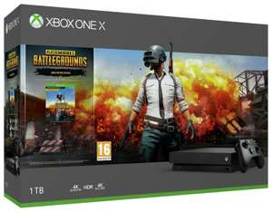 Microsoft Xbox One X 1TB 4K Console with PlayerUnknown's Battleground Bundle - £258.99 delivered @ Argos eBay