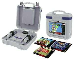 Nintendo SNES Classic 22 x 25cm Deluxe Console Case with Changeable Artwork - £9.99 @ Argos /eBay