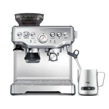 Sage Barista Express Bean to Cup Coffee Machine Including Milk Jug - Silver £ 424.99 Costco