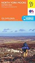 OS Explorer OL27 North York Moors - Eastern area (OS Explorer Map) £2.69 (Prime) / £6.68 (non Prime) Amazon