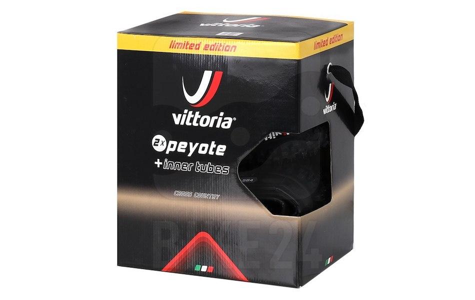 Vittoria MTB Peyote 2pack Folding Tyre Plus Innertube £18.99 delivered at Planet X