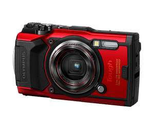 Olympus Tough TG-6 Digital Camera in black or black/red for £299 delivered (using code) @ Olympus Shop