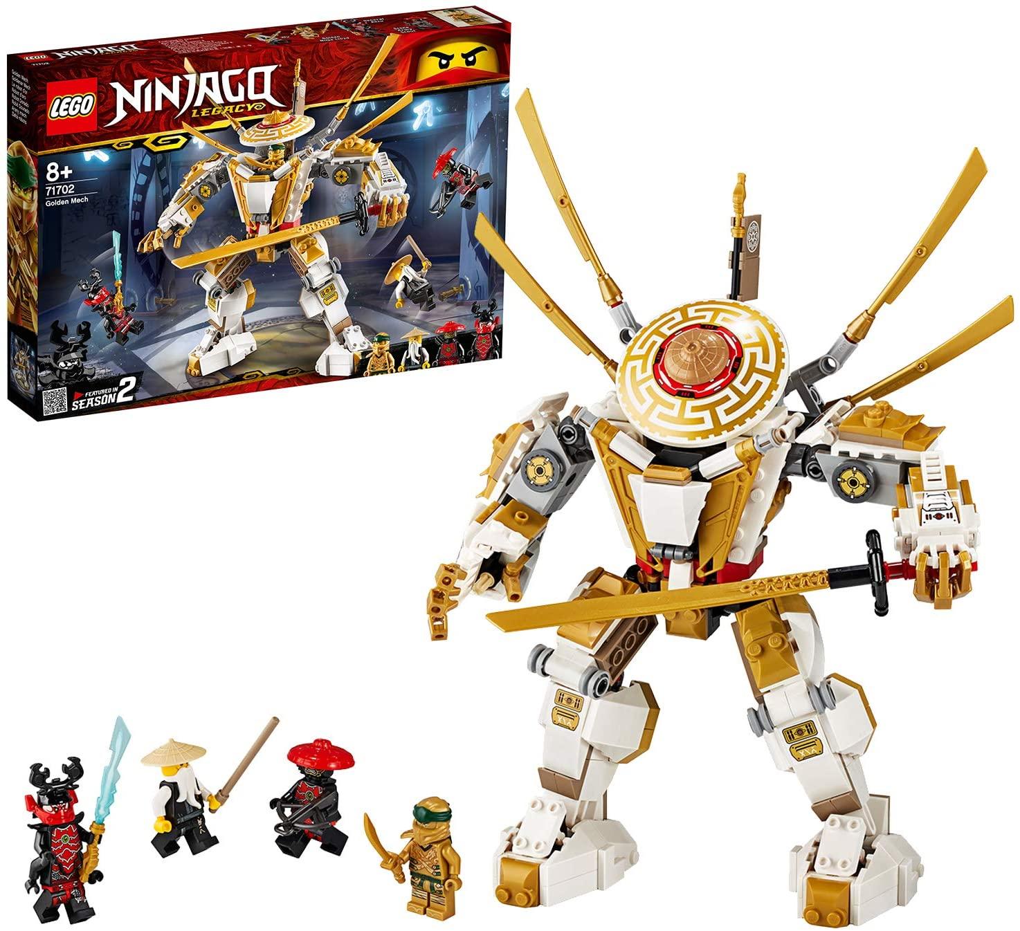 LEGO 71702 NINJAGO Legacy Golden Mech £27.99 delivered at Amazon