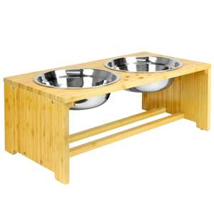 M & W Raised Pet Bowls For Dogs & Cats £9.99 Delivered @ Roov