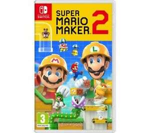 NINTENDO SWITCH Super Mario Maker 2, £36.79 at Currys/ebay with code