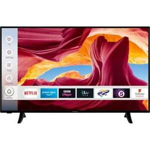 Techwood 49AO9UHD 49 Inch TV Smart 4K Ultra HD LED Freeview HD 3 HDMI Dolby/Alexa, £259 at AO/ebay