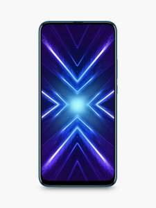 "Honor 9X Smartphone, Android, 4GB RAM, 6.59"", 4G LTE, SIM Free, 128GB, Sapphire Blue - £199.95 @ John Lewis & Partners"