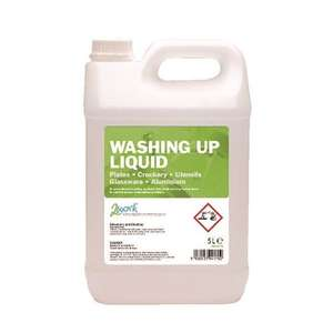 2Work Washing Up Liquid 5 Litre 2W04170 £3.14 @ Euroffice