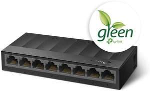TP-Link LS1008G 8-Port Desktop/Wallmount Gigabit Ethernet Switch, £13.47 / £17.96 Non Prime at Amazon