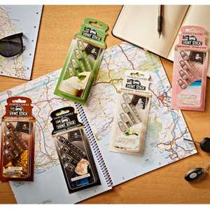 8 x Packs Official Yankee Candle Car Vent Stick Air Fresheners (Total 32 Fresheners) £10 delivered @Yankee Bundles
