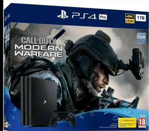 SONY PlayStation 4 Pro with Call of Duty: Modern Warfare - 1 TB - £251.26 @ currys clearance