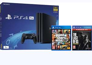 PlayStation 4 Pro 1TB with The Last Of Us and GTA V (Disc) £349 @ ao.com