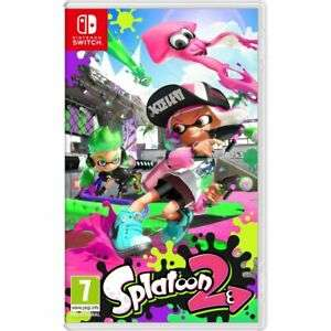Splatoon 2 (Nintendo Switch) for £36.80 with code delivered @ AO eBay