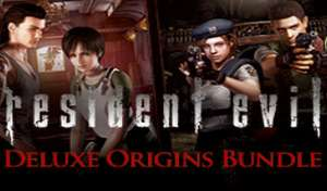 Resident Evil Deluxe Origins Bundle / Biohazard Deluxe Origins Bundle - £7.99 @ Steam