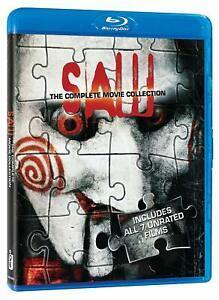 Blu Ray SAW 1 2 3 4 5 6 & 7 unrated movie collection box set - £19.99 @ filmsandtvgems / eBay