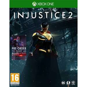 Injustice 2 with Darkseid DLC (Xbox One) £7.95 Delivered @ The Game Collection