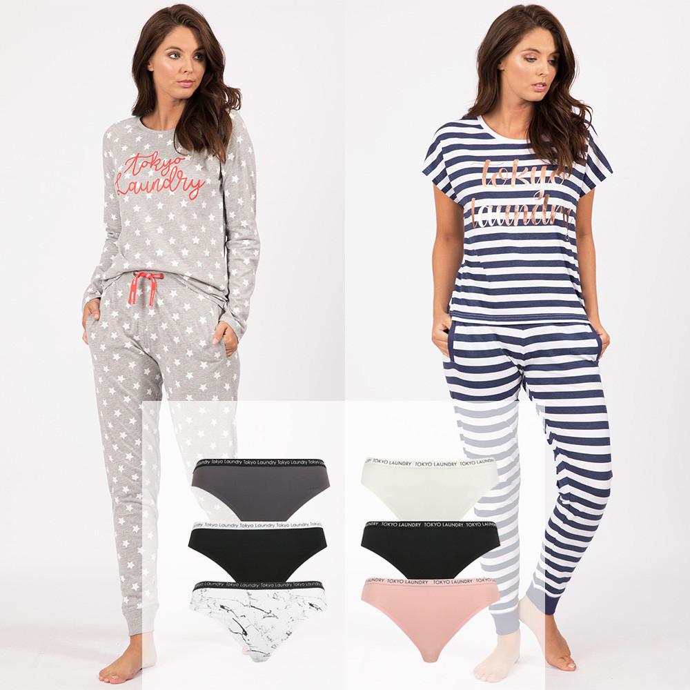 Women's Lounge Set + 3 pack Underwear Bundle for £20 / £21.99 delivered @ Tokyo Laundry