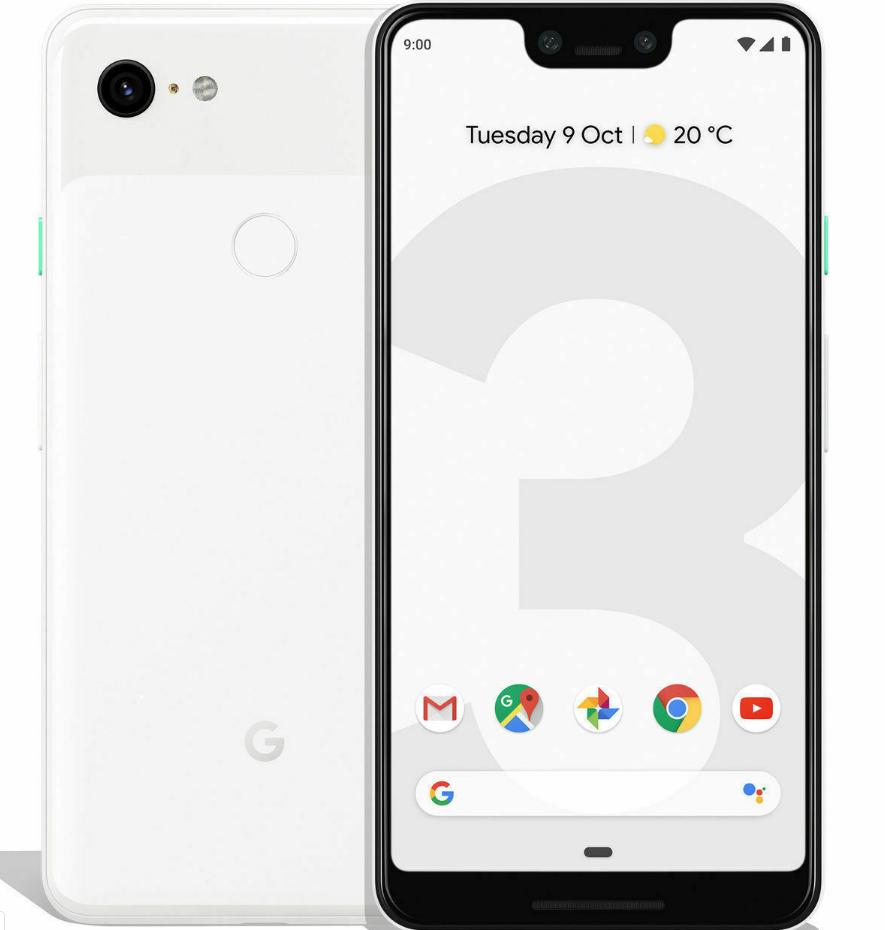 "New Google Pixel 3XL 64GB Clearly White 4G 6.3"" 12MP NFC Unlocked Smartphone £357 @ global-talk2020 eBay"