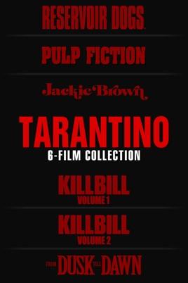 Tarantino 6-Film Collection - £16/$19.99 US iTunes Store