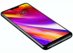 "'Open Box' LG G7 ThinQ LM-G710 64GB 6.1"" Android Mobile Phone Smartphone Unlocked Black - £239.99 With Code @ XS Items / Ebay"