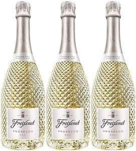 3 Bottles of Freixenet Prosecco DOC 75cl £27 at Amazon (Min Order of 3 at £9 each)