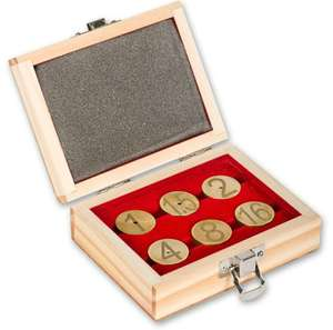 Axminster Circular Gauge Block Set £8.90 +£2.95 delivery @ Axminster tools