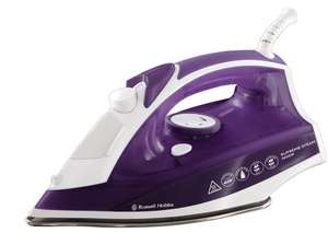 Russell Hobbs Supremesteam 23060 Steam Iron Purple - £14.99 / Supreme 23040 Steam Iron White & Blue - £16.99 + 3 Year Guarantee @ Currys