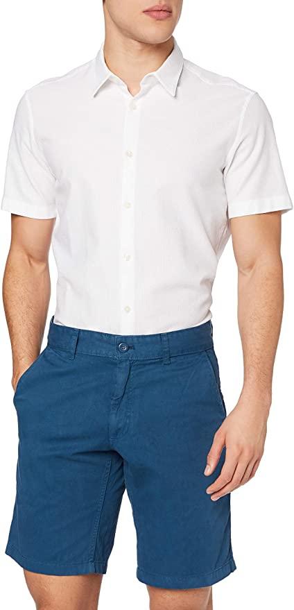 Amazon Brand - find. Men's Cotton Regular Fit Chino Shorts (Blue, Black, Beige) £5.10 Or Blue 30W £5.84 (+£4.49 Non-Prime) @ Amazon
