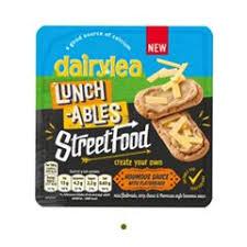 Dairylea Lunchables Street Food Houmous & Flatbreads 39p @ Heron Foods - Kingston Upon Hull