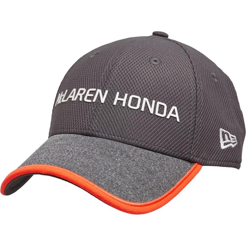 New era caps and hats - Unisex Mclaren Honda Official Team 9forty Cap Charcoal £3.99 + £4.99 del at MandM Direct